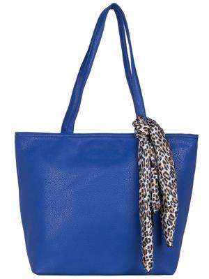 Cappuccino 22018A Blue Women Tote Bag