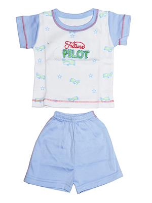 Fubu 2201-W-Pl Multicolored Boy T-Shirt-Short Set Combo Pack
