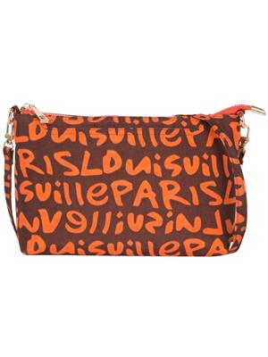 Cappuccino 22066 Orange Women Sling Bag