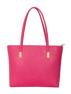 Cappuccino 23010 Fuschia Women Tote Bag