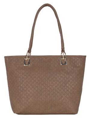 Cappuccino 24002A Toupe Women Tote Bag
