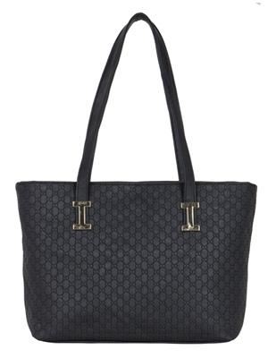 Cappuccino 24003 Black Women Tote Bag