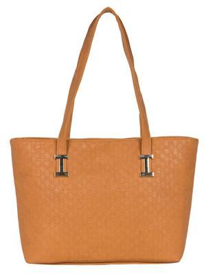 Cappuccino 24003 Tan Women Tote Bag