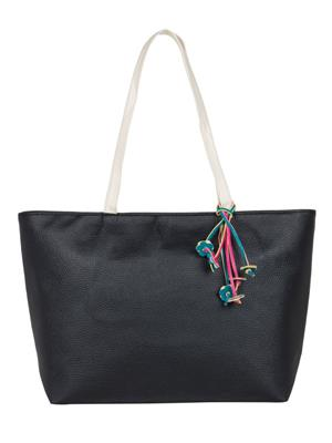 Cappuccino 24005A Black Women Tote Bag