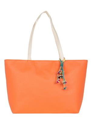 Cappuccino 24005A Orange Women Tote Bag