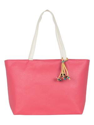 Cappuccino 24005A Pink Women Tote Bag
