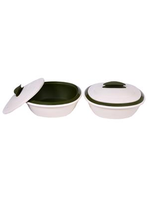 Signoraware 244 Multicolored Double Casserole Set Of 2