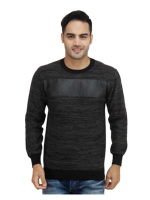 Duke S2492 Black Men Sweater