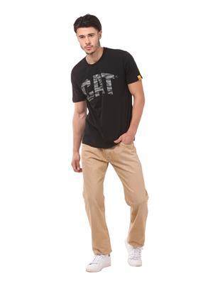 Cat 2510554 Black Men T-Shirt