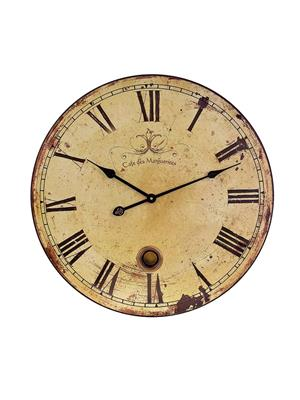 Interior Passion 2511 Large Wall Clock with Pendulum