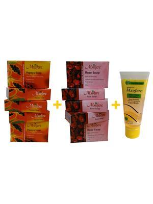 Mxofere 255Prwa Natural Handmade Soap Set Of 11
