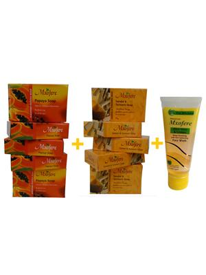Mxofere 257Ptwa Natural Handmade Soap Set Of 11