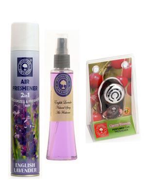 Aromatree 26eec3007510 Air freshener Car Perfume 10 Ml Set of 3