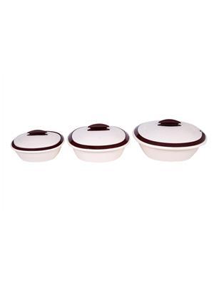 Signoraware 270 Multicolored Double Casserole Set Of 3