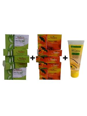 Mxofere 271Vpwa Natural Handmade Soap Set Of 11