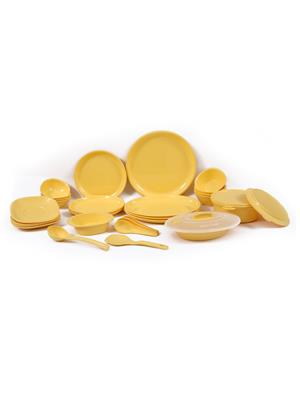 Signoraware 277 Yellow Dinner Set Of 32