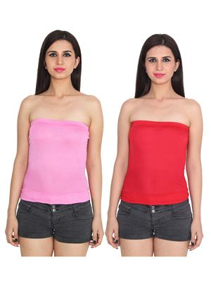 Ansh Fashion Wear 2Cm-5-6 Multicolored Women Camisole Set Of 2