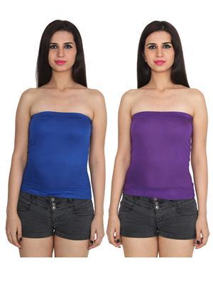 Ansh Fashion Wear 2Cm-9-11 Multicolored Women Camisole Set Of 2