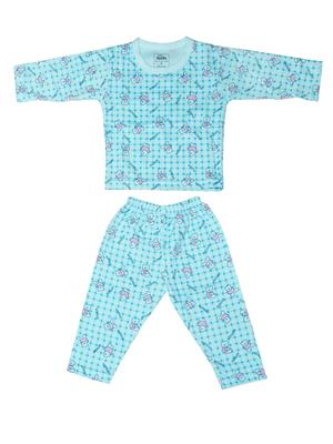 Fubu 3000-1-Bl-Bl Blue Infant T-Shirt-Pyjama Set Combo Pack