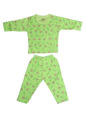Fubu 3000-1-G-G Green Infant T-Shirt-Pyjama Set Combo Pack