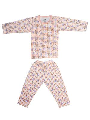 Fubu 3000-1-W-Pc Peach Infant T-Shirt-Pyjama Set Combo Pack