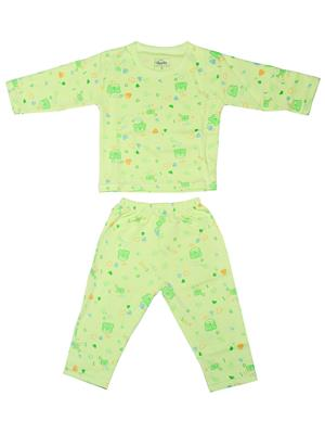 Fubu 3000-2-Dg-Dg Green Infant T-Shirt-Pyjama Set Combo Pack