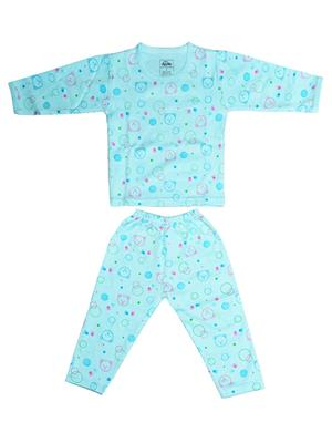 Fubu 3000-3-Bl-Bl Blue Infant T-Shirt-Pyjama Set Combo Pack