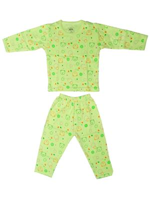Fubu 3000-3-Dg-Dg Green Infant T-Shirt-Pyjama Set Combo Pack
