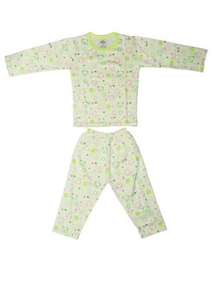 Fubu 3000-3-G-G Green Infant T-Shirt-Pyjama Set Combo Pack
