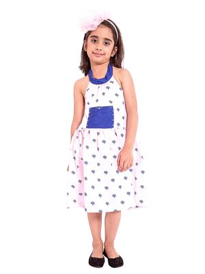 Fbbic 3037 Multicolored Girl Frock
