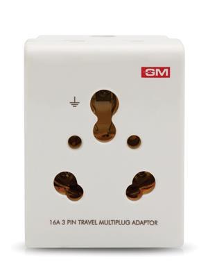 Gm 3050 White Multi Pin Adaptor