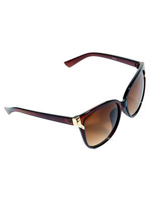 Eye Candy 31010040 Brown Women Cat Eye Sunglasses