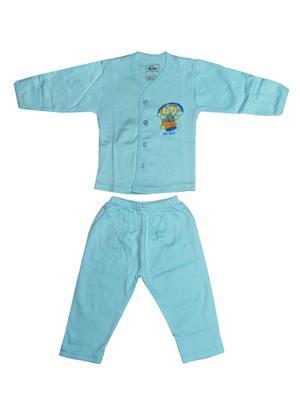Fubu 3300-1B Blue Infant Top-Pyjama Set Combo Pack