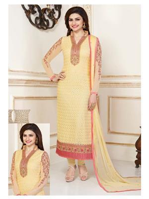 Rahi Fashion 3305 Yellow Women Salwar Suit