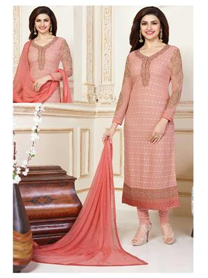 Rahi Fashion 3309 Peach Women Salwar Suit