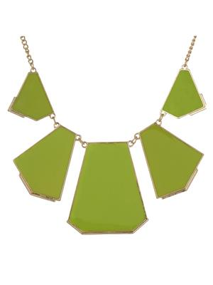 Fayon 35025 Green Chic Stylish Women Collar Necklace
