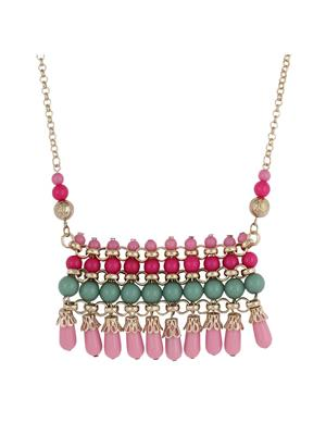 Fayon 35086 Pink Daily Casual Work Women Collar Necklace
