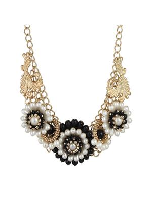 Fayon 35162 Gold  Contemporary Statement Women Princess Necklace