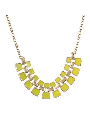 Fayon 35254 yellow Party Style Diva Women Princess Necklace
