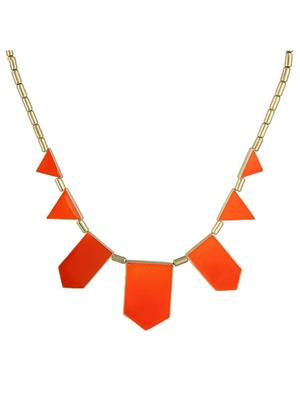Fayon 35285 Red Designer Modern Women Princess Necklace