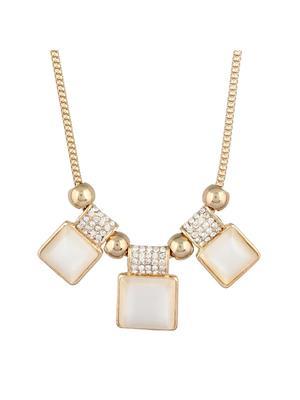 Fayon 35323 Cream  Party Style Women Princess Necklace