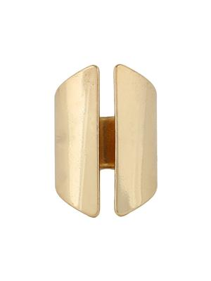 Fayon 37078 Weekend Party Golden Punk Style Chunky Ring