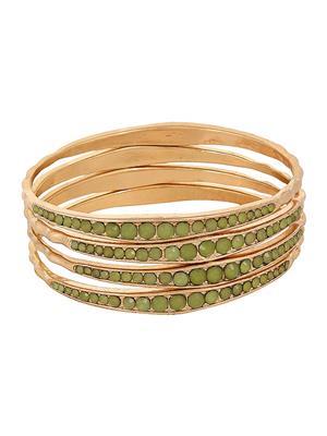 Fayon 38153 Gold Women Bangle Bracelet