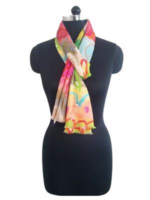 Sisel 3 Multicolor Women Scarves