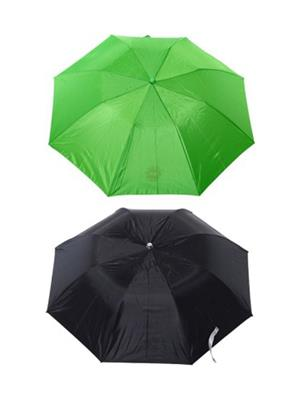 Slr Umbrella 3 F Black & Green Umbrella Combo