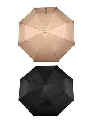 Slr Umbrella 3 F Black & Beige Umbrella Combo