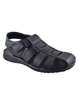 Elvace 4001 Black Men Sandals