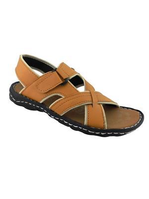 Elvace 4003 Tan Men Sandals