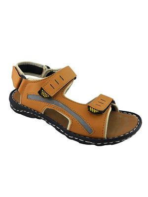 Elvace 4004 Tan Men Sandals
