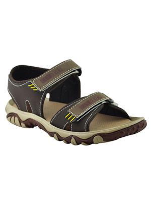 Elvace 4007 Brown Men Sandals